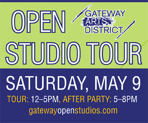 Save the Date! Gateway Open Studios on Saturday, May 9!
