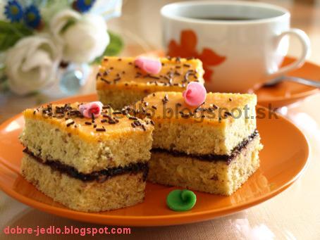 Jednoduchý mandľový koláč - recepty