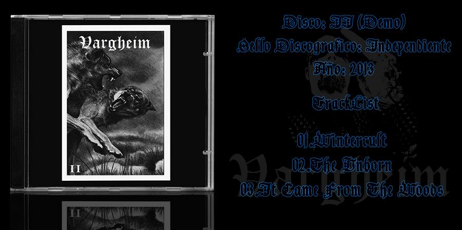 Vargheim l Black Metal l Suecia