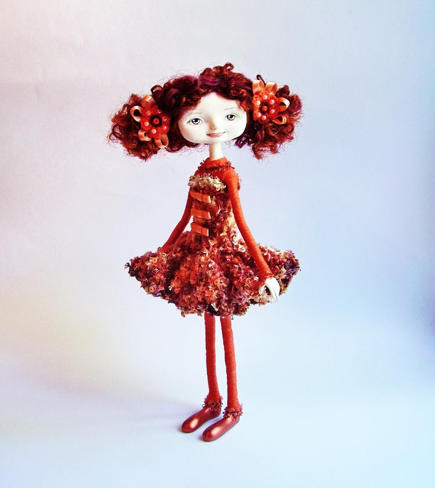Сувенирная кукла. Лепка головы. Ярмарка Мастеров 70