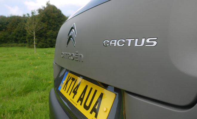 Citroen C4 Cactus rear badge