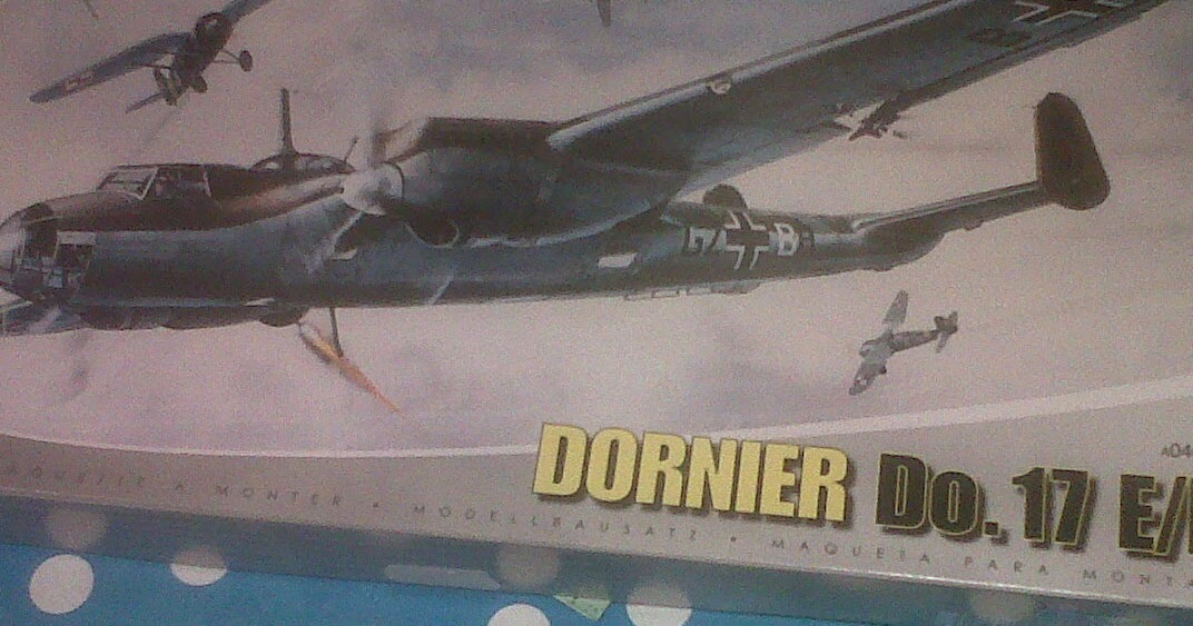 Geordies Big Battles Airfix Dornier Do17 Ef Assembly Question