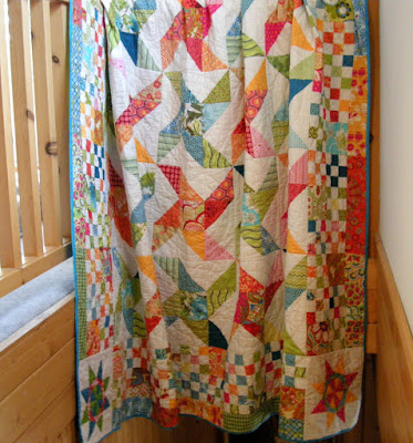 The Pinwheel Quilt Can Be Marked Off the List