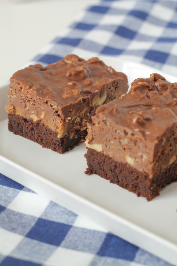 Chocolate Peanut Butter Brownie Madness