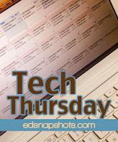 Tech Thursday logo | Everyday Snapshots