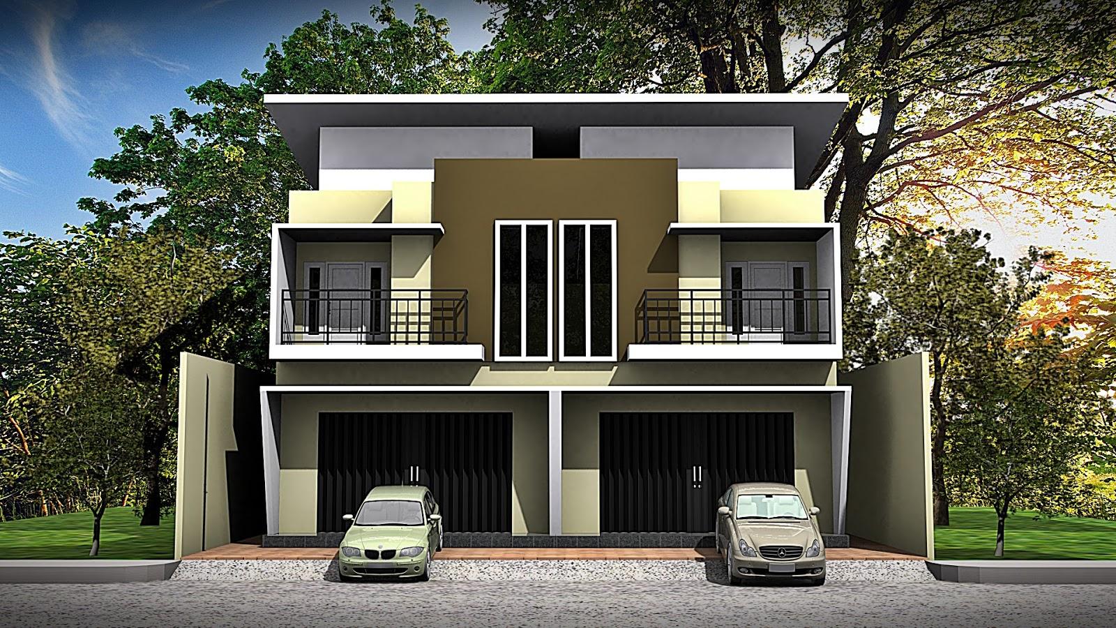 Agratek Studio Arsitektur - Sipil Engineering: Desain Ruko Minimalis
