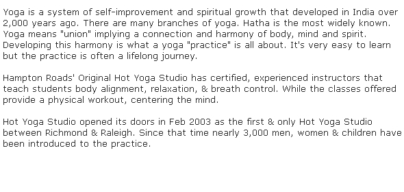 Hot yoga studio virginia beach hot yoga studio offers sports and