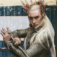 Lee Pace como Thranduil en El Hobbit parte 1