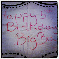 Birthday Pillow Cover