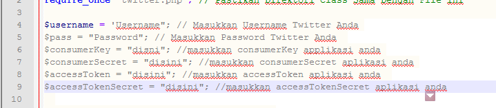 Script Auto Tweet Versi Null 2014