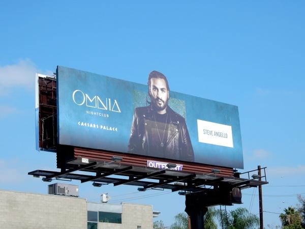 Steve Angello Omnia nightclub billboard