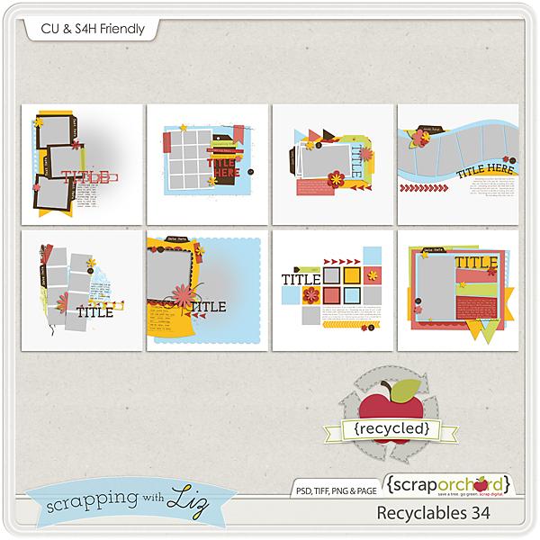 http://scraporchard.com/market/Recyclables-34-Digital-Scrapbook-Templates.html