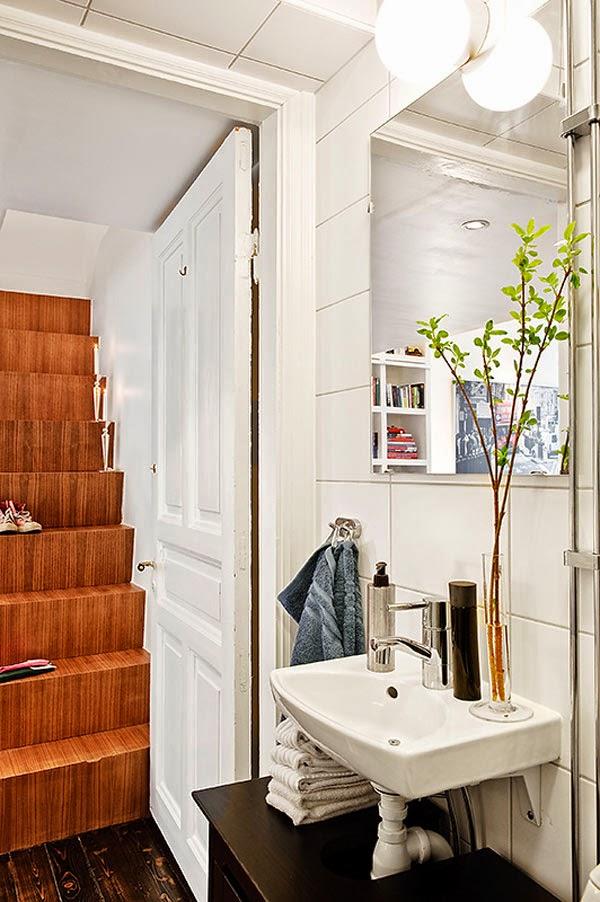 decoração de interiores Banheiro do apartamento