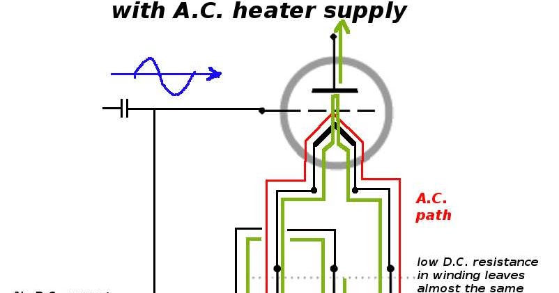 dc heater supply schematic