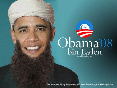 bin laden barrack obama. is arack obama osama in