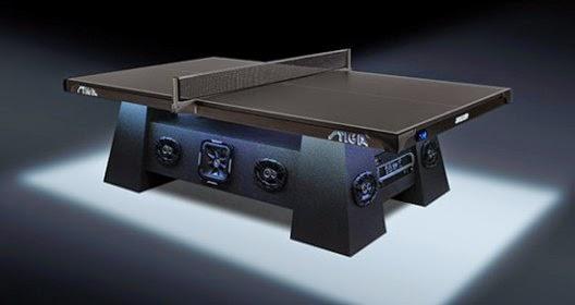 Stiga S Studio Table Tennis With 2 800 Watt Sound System