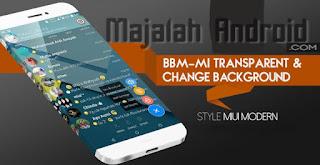 Kumpulan BBM Mod Material Design Terbaru di Android
