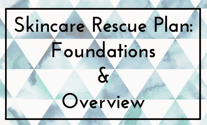 Skincare Rescue plan overview for important information on how to take care of your face!