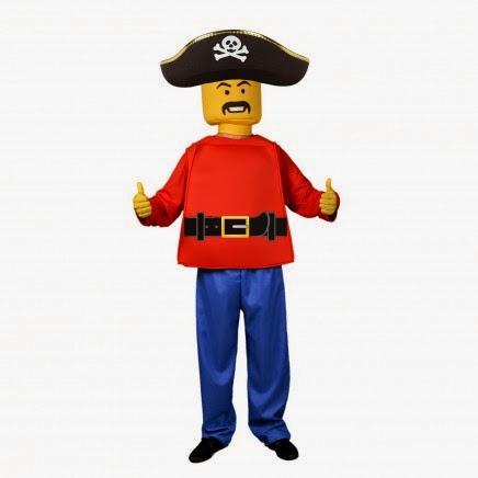 Disfraz Lego Pirata