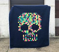 skull PDF quilt pattern