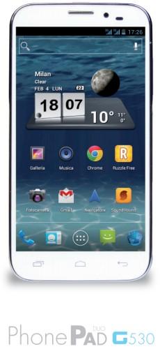 Nuova gamma di smartphone android quadcore con supporto al dual sim e grandi display da parte di Mediacom