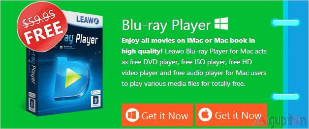 Download Leawo Blu-ray Player Seharga $59.95 Gratis