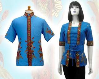 baju batik pasangan/capulate terbaru