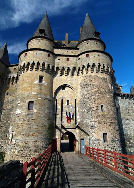 Castelo de Vitré: enche de um gaudio que convida ao Céu