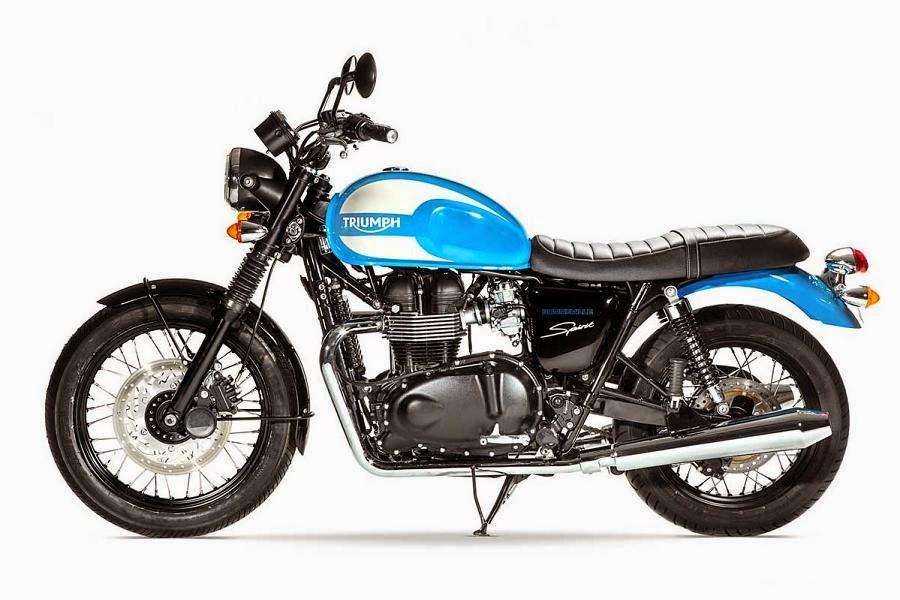 Triumph Bonneville Spirit Special Edition (2015) Side
