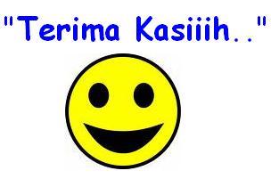 Gambar Emoticon Terima Kasih