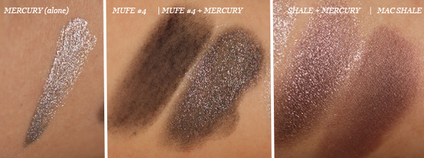 bobbi brown mercury cream eyeshadow swatch