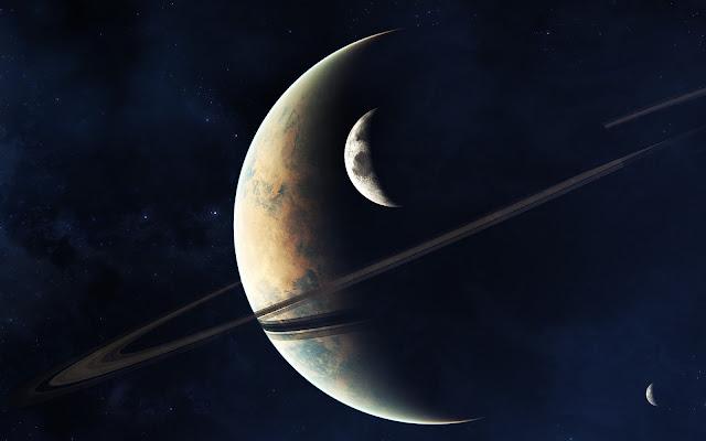 Planeta de los Anillos Fotos del Espacio - Imagenes del Universo