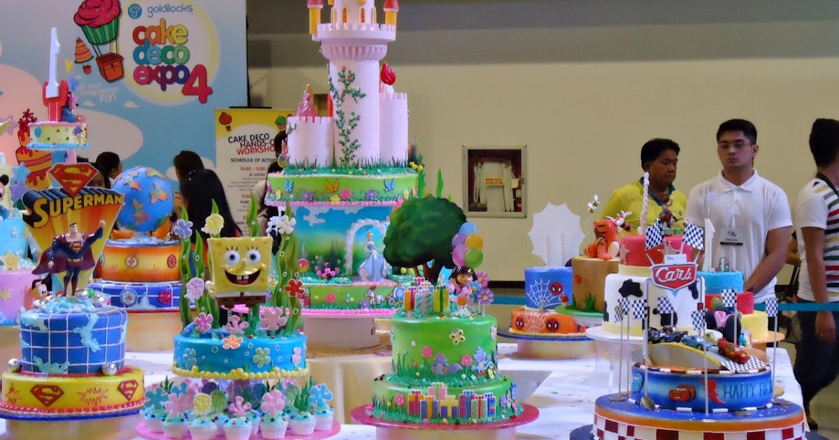Just Passing Thru The 4th Goldilocks Cake Expo 2013 Let Your