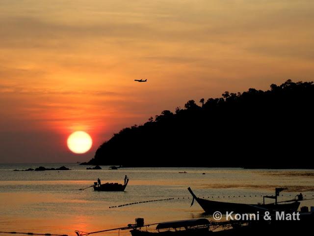 Sunset, Koh Lipe, straits of Malacca, Thailand,