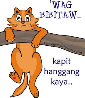 wag bibitaw tagalog poster