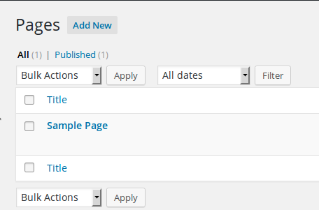 how to add image to font page wordpress