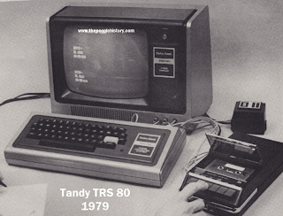 The Tandy TRS 80 Popular Home Computer From Late 70s and early 80s