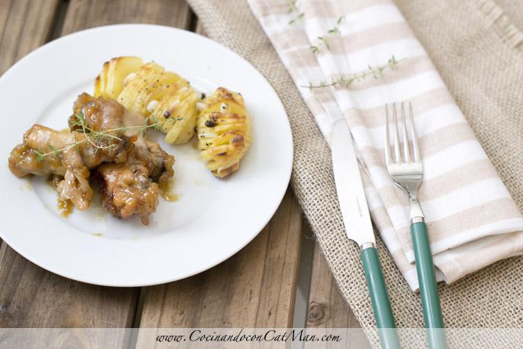 receta de alitas de pollo en thermomix