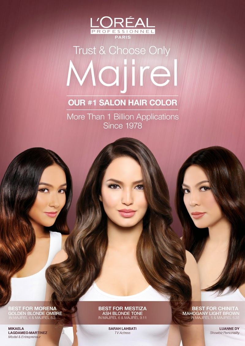 Majirel Celebrates Years Of Haircolor Success With The Launch Of New