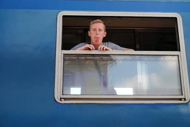 trip / travelling / Romania / boy / train / fun