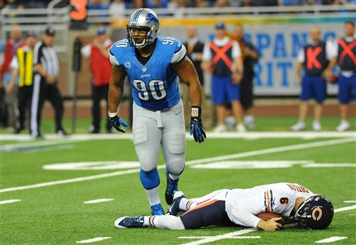 Detroit Lions: Ndamukong Suh gets wish to face Chicago Bears' Jay Cutler