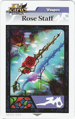 Rose Staff + Kid Icaruse + AR Card