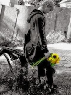 sad-alone-boy sad boy black and white
