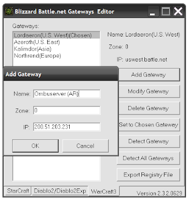 Blizzard Battle.net Gateways Editor 2