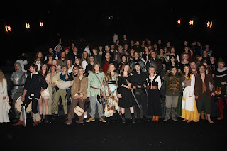 Powitanie hobbita - cała drużyna