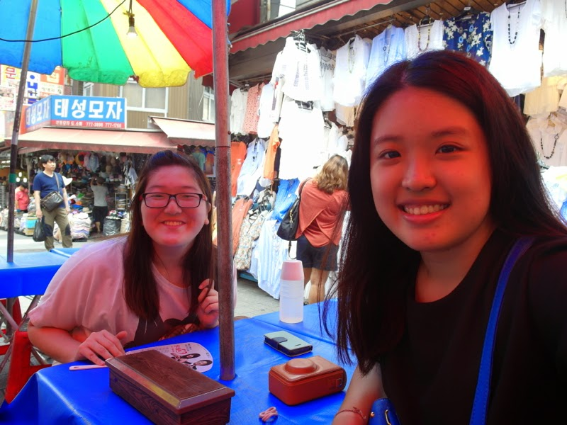 Ewha Summer Studies Namdaemun Food Street Seoul South Korea lunarrive travel blog