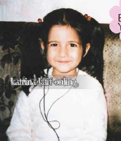 Katrina Kaif childhood Photos