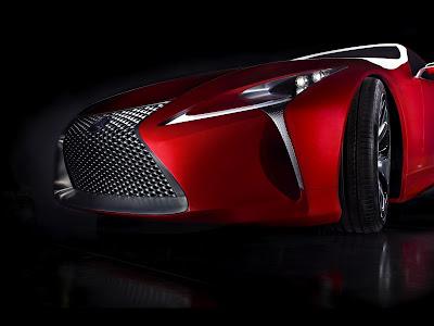 Lexus 2012 Concept Hybrid Car HD Wallpaper