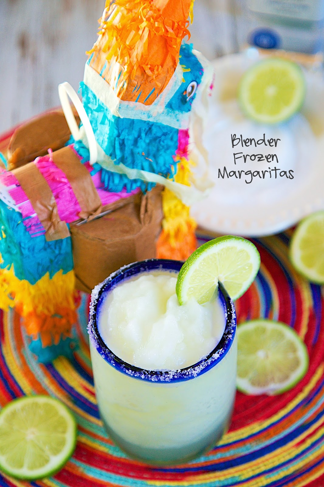 Blender Frozen Margaritas - ready in a few seconds! Tastes SO much better than the Mexican restaurant!