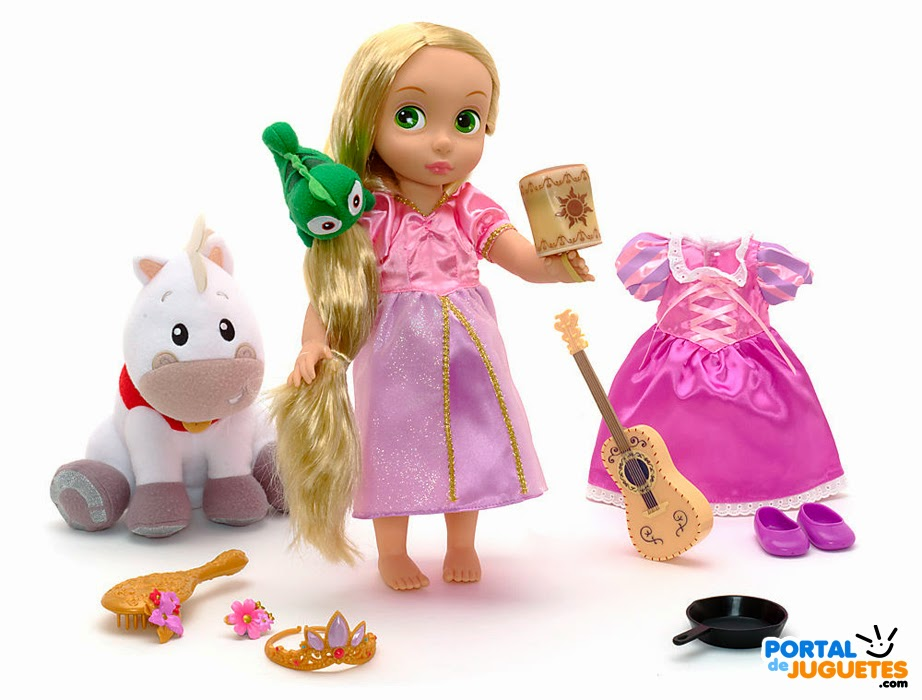 set coleccion rapunzel disney animators